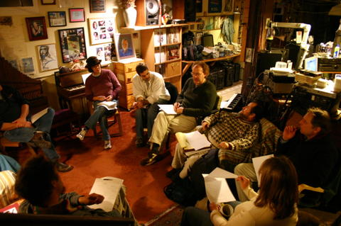 The first and founding meeting of Bay Area Sound Ecology (BASE)